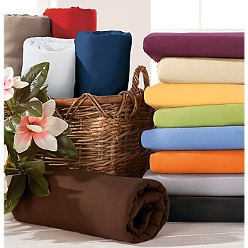 Estella velour fitted sheet