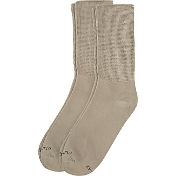Camano 2-pack unisex socks with soft cuffs