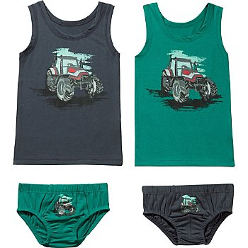 Erwin Müller  4-piece boys underwear set