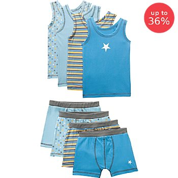 Erwin Müller  8-piece boys underwear set