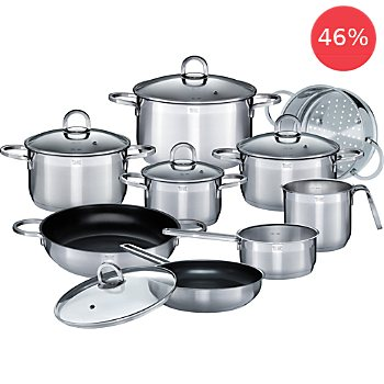 GSW  pot set, 14-parts