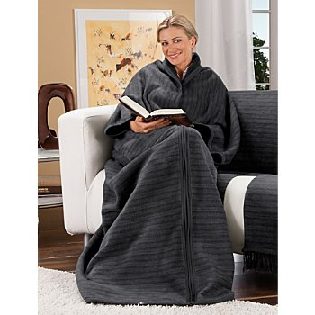 Ibena  blanket with sleeves