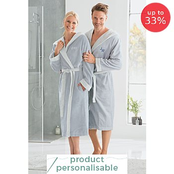 Erwin Müller  unisex hooded bathrobe