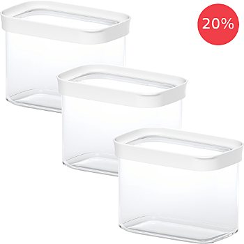 Emsa 3-pack food containers