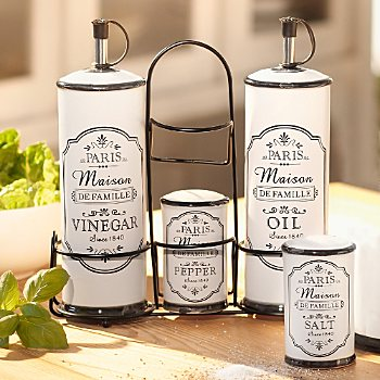 spice dressing set 5-parts