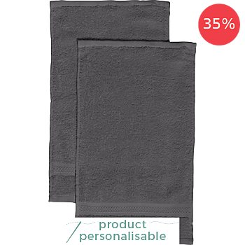 REDBEST 2-pack small hand towels