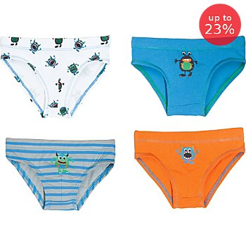 Erwin Müller 4-pack boys briefs