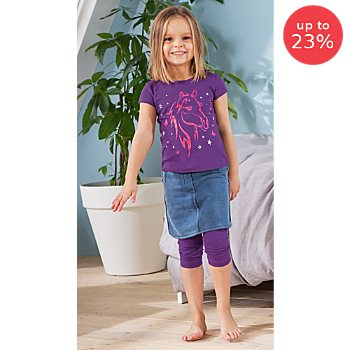 Erwin Müller  children's Capri leggings