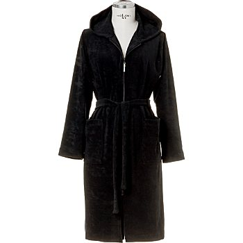 Möve  women's hooded bathrobe