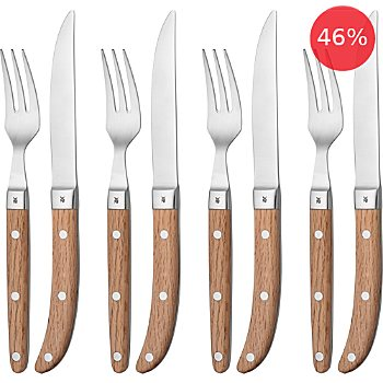 WMF 8-piece steak cultery set,