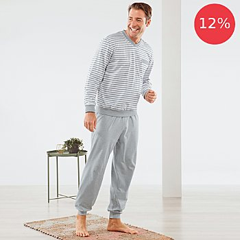 Erwin Müller single jersey men´s pyjamas