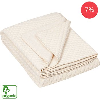 Richter Textilien  organic cotton blanket