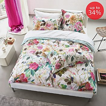 Designers Guild percale reversible duvet cover set