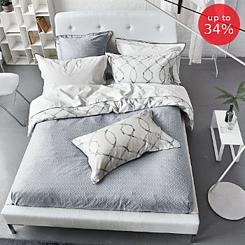 Designers Guild satin reversible duvet cover set