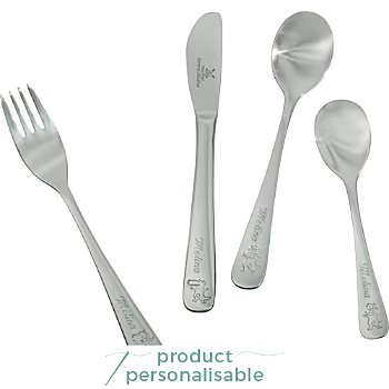 4-pc children's cutlery incl. engraving