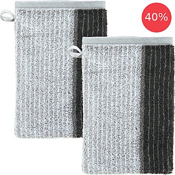 Erwin Müller  pack of 2 wash mitts