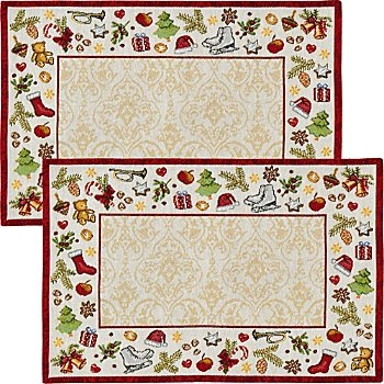 Sander gobelin tapestry 2-pack table sets