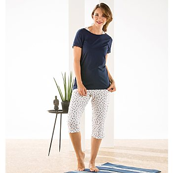 ESPRIT single jersey women short pyjamas