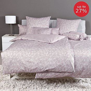 Janine interlock jersey reversible duvet cover set