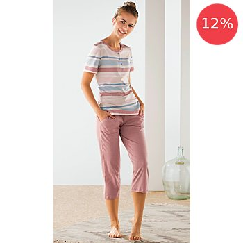 Schiesser single jersey women short pyjamas