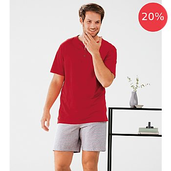 Schiesser single jersey men´s short pyjamas