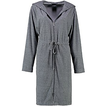 Cawö Home  women's hooded bathrobe