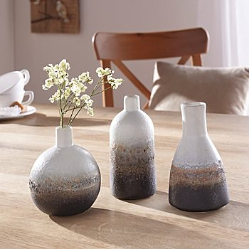 3-pack decoration vases
