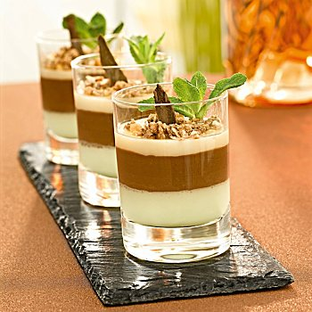 6-pack dessert glasses