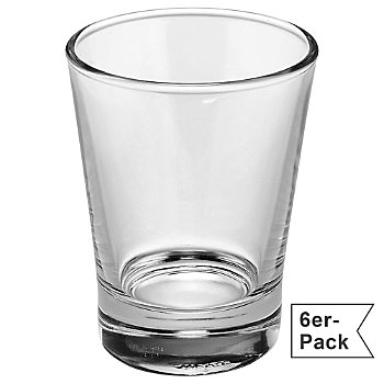 6-pack espresso glasses
