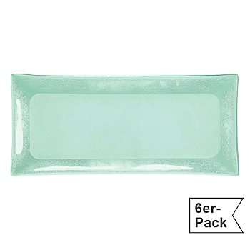 6-pack serving plates