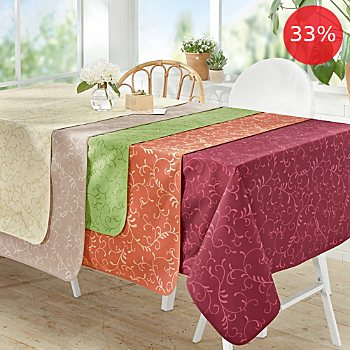 Erwin Müller wipe-clean square tablecloth