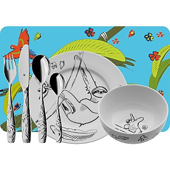 WMF 7-piece kids tableware set