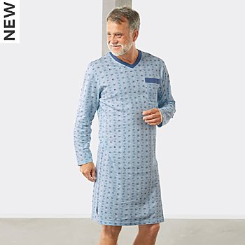 Erwin Müller single jersey men´s nightshirt