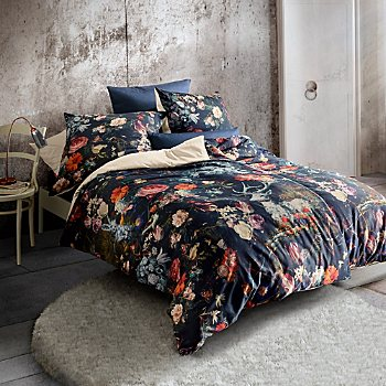 Fleuresse Egyptian cotton sateen reversible duvet cover set