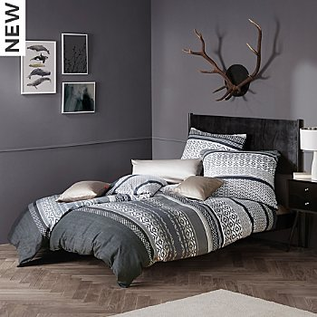 Fleuresse cotton flannel duvet cover set