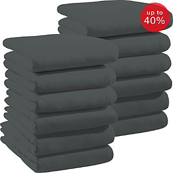 Erwin Müller 12-pack elastic jersey fitted sheets,