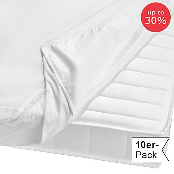Erwin Müller 10-pack waterproof & boil-proof fitted sheets