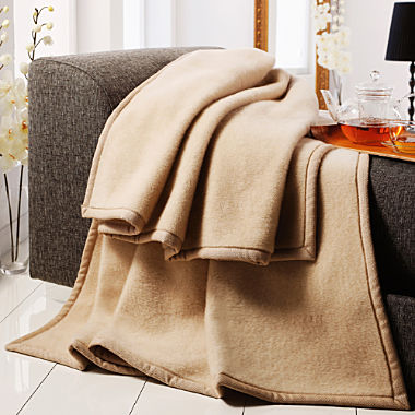 Ritter cashmere home blanket