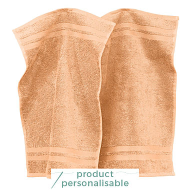 Pack of 2 Erwin Müller small hand towels, Tübingen