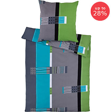 Erwin Müller cotton jersey duvet cover set
