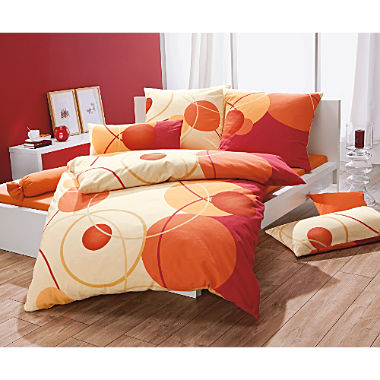 Erwin Müller cotton flannel duvet cover set