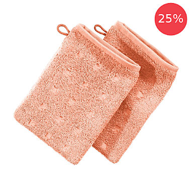 Pack of 2 Möve wash mitts