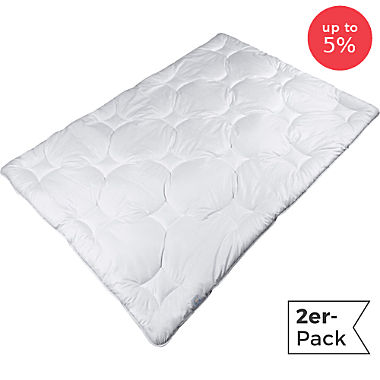 Pack of 2 Erwin Müller quilted duvets