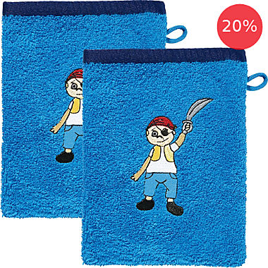 Pack of 2 Erwin Müller wash mitts