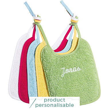 Pack of 2 Erwin Müller terry bibs