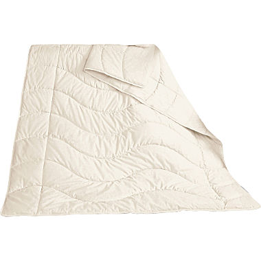 Wild silk light-weight duvet