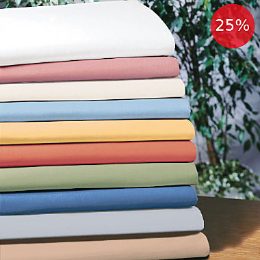 Erwin Müller pure cotton flat sheet
