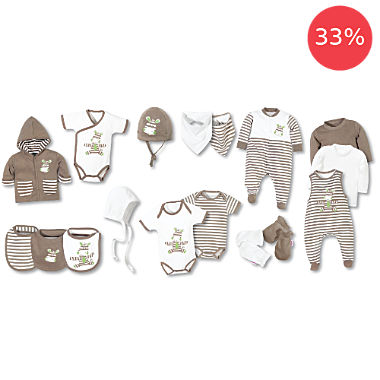Erwin Müller 17-pc newborn essential Kit