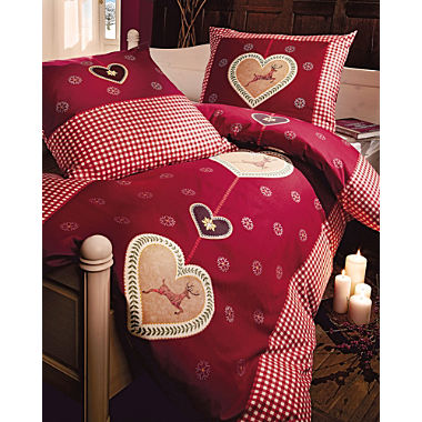 Kaeppel flannel duvet cover set