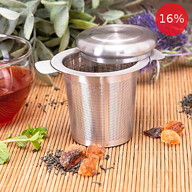 2-pc tea strainers